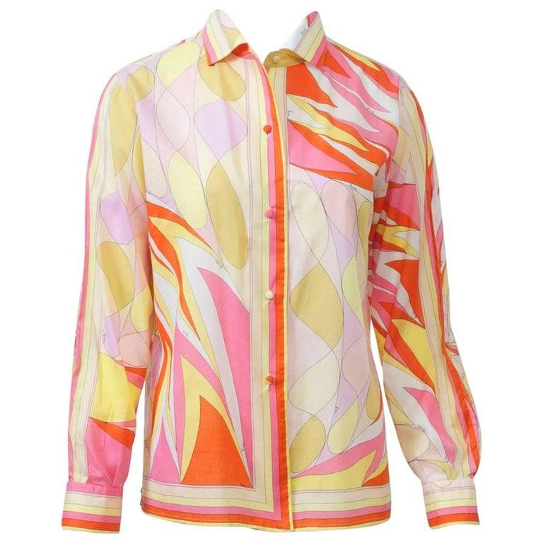 Pucci Cotton Shirt