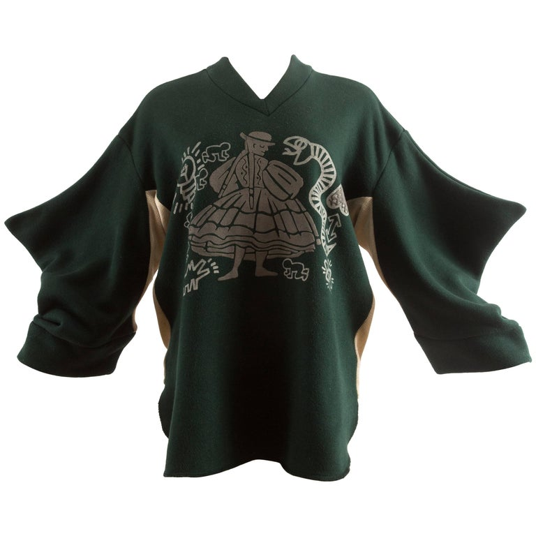 Worlds End Autumn-Winter 1983 Keith Haring 'Witches' jersey sweater