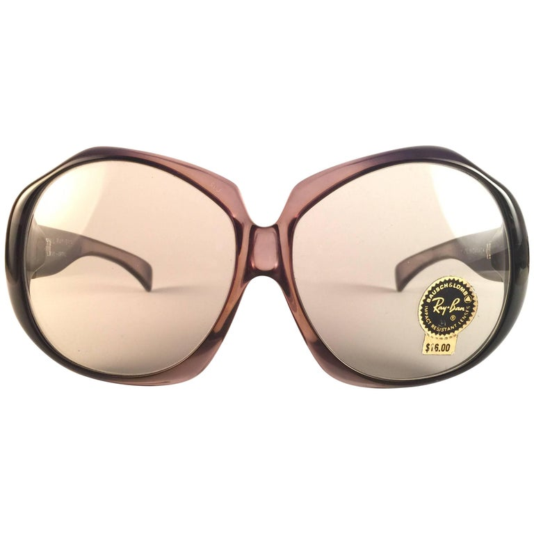 6591dd865ea79 New Ray Ban Oversized Eve Clear Lenses B L USA Sunglasses For Sale ...