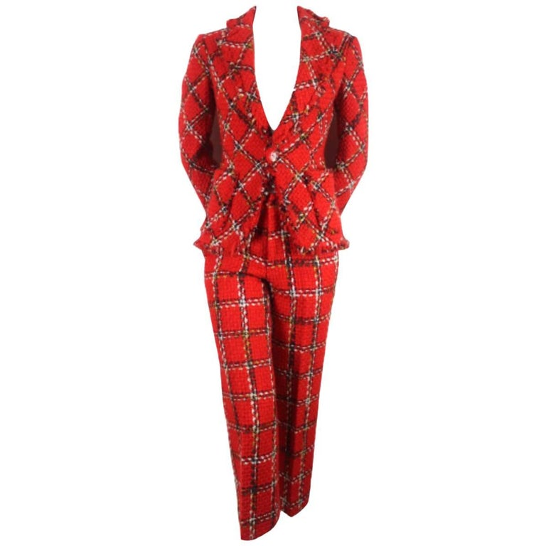 Junya Watanabe 2003 Collection Wool Trouser Suit
