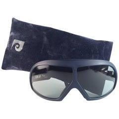 New Vintage Pierre Cardin Ski Haute Sports Light Grey Lens 1970's Sunglasses