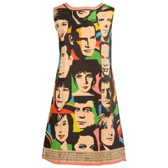 "Universal Studios Paper Dress ""The Big Ones for '68"" style of Andy Warhol"