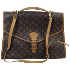 Louis Vuitton Vintage Beverly Briefacse with Shoulder Strap