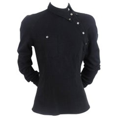 Alexander McQueen 1990s Bias Button Shirt