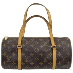 Louis Vuitton Vintage Monogram Canvas Papillon Bag