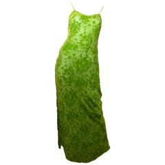 Voyage Bias Cut Velvet Slip Dress