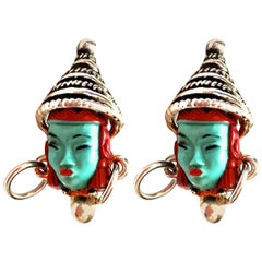 Vintage Asian Princess Earrings