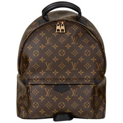 2016 Louis Vuitton Brown Monogram Coated Canvas Palm Springs Backpack MM