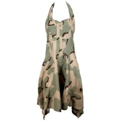 Junya Watanabe 2005 Collection Camouflage Dress