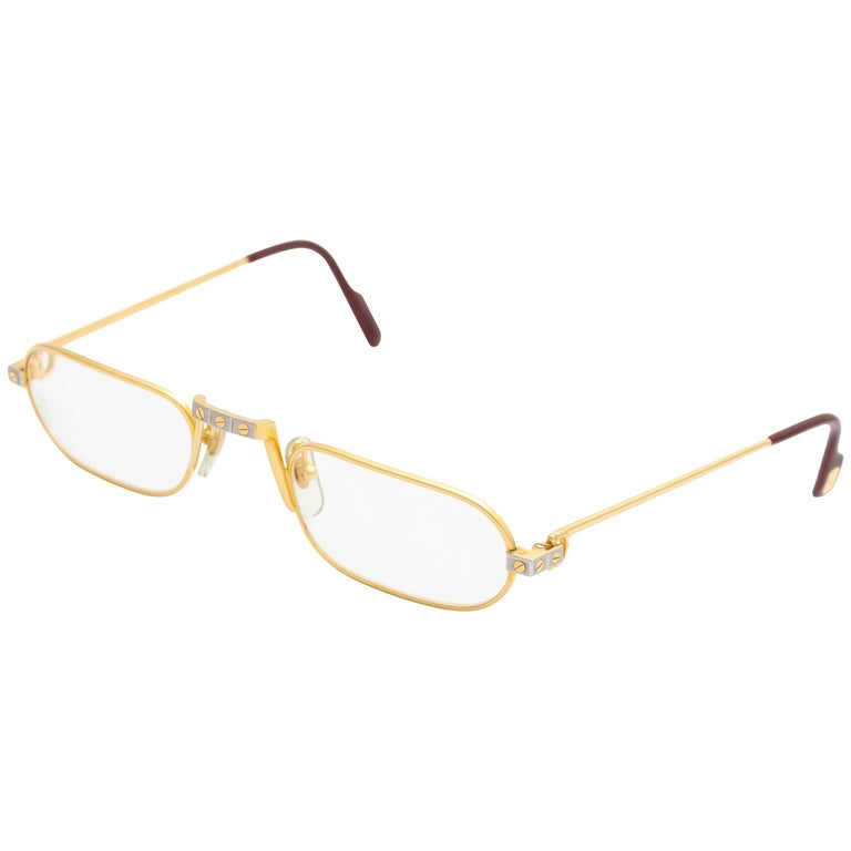 8aee2d7b1d5 Vintage Cartier Demi Lune Sunglasses For Sale at 1stdibs