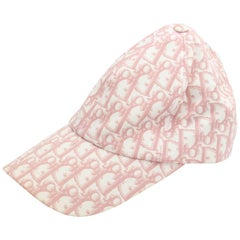 John Galliano for Christian Dior Pink Logo Cap