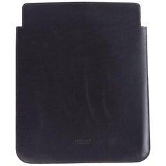 Roberto Cavalli Dark Brown Box Taurus Leather Classic iPad Sleeve
