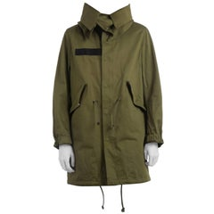 Givenchy Wings Parka Coat (Size - 50)