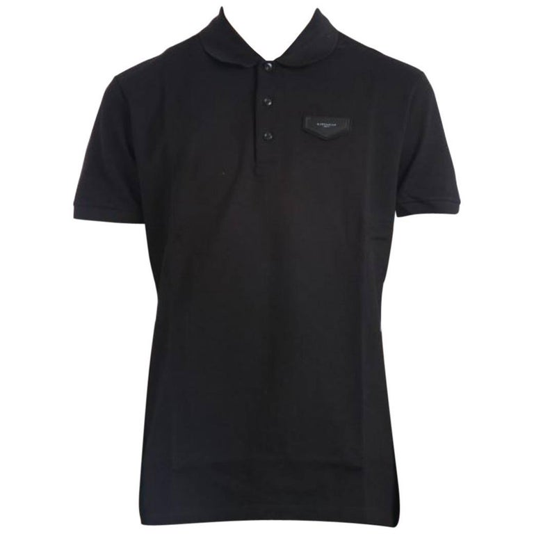 givenchy logo polo shirt size m for sale at 1stdibs