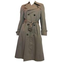 1970s Pierre Cardin Grey Trenchcoat