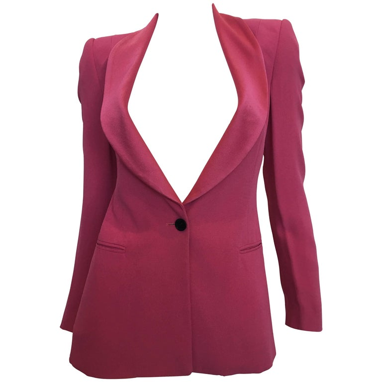 Bella Frued Pink Tux Style Jacket 1