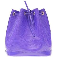 Louis Vuitton Purple Petit Noe Bag