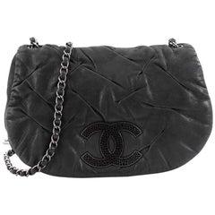 Chanel Glint Messenger Bag Iridescent Calfskin