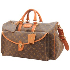Louis Vuitton The French Company Large Duffel Bag Monogram Keepall Saks 70s
