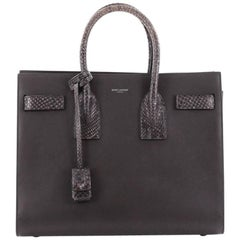 Saint Laurent Sac de Jour NM Leather with Python Small