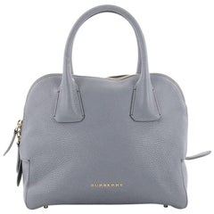Burberry Greenwood Bowling Bag Grainy Leather Small