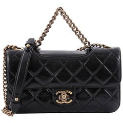 Chanel Perfect Edge Flap Bag Quilted Glazed Calfskin Small