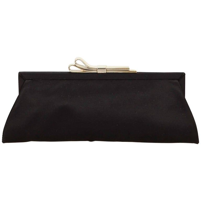 Chloe Black Nylon Clutch For Sale