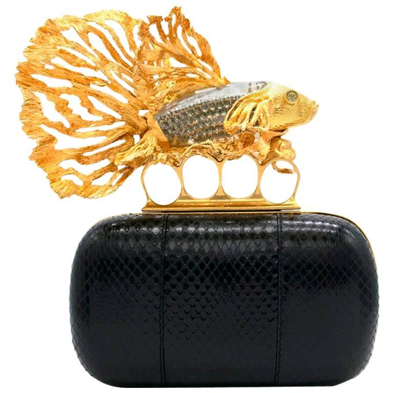 Alexander McQueen Tropical Fish Clutch  For Sale