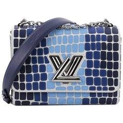 Louis Vuitton Twist Handbag Patchwork Epi Leather MM