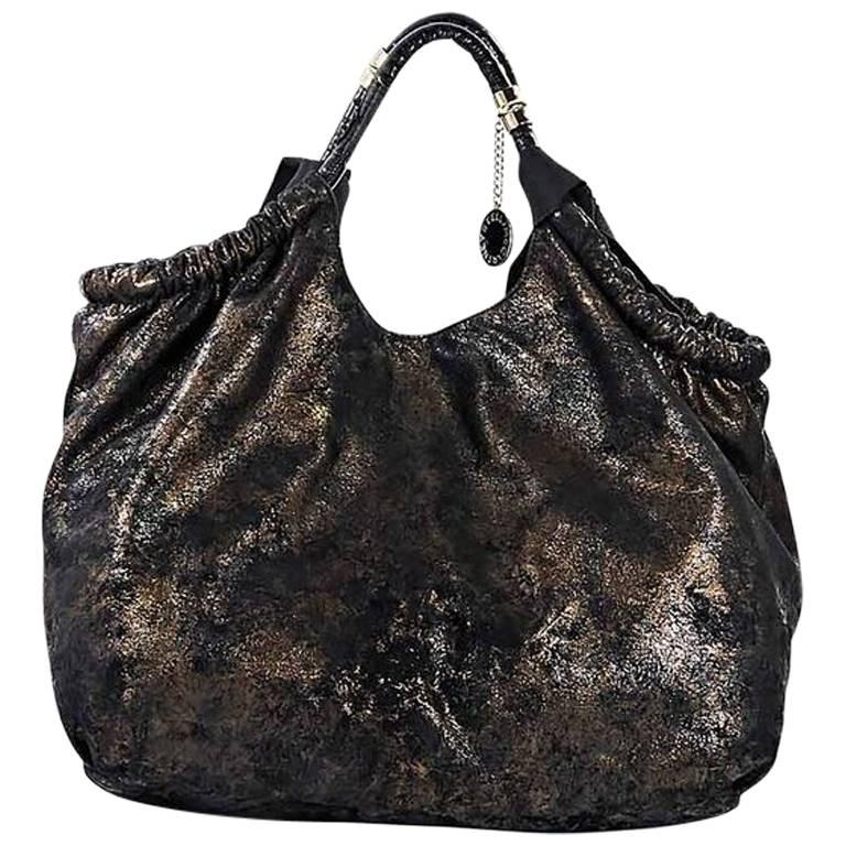 Black & Copper Stella McCartney Hobo Bag