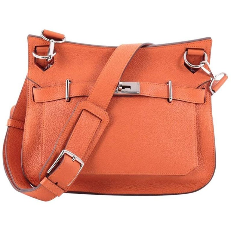 Hermes Jypsiere Handbag Clemence 31 at 1stdibs 7c7f35d381bb9