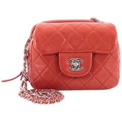 Chanel Wallet on Chain Flap Quilted Calfskin Mini