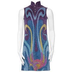 Rare and Important Psychedelic Lurex 1960s Missoni
