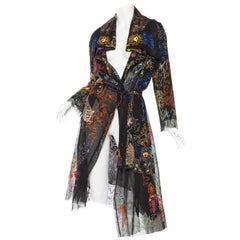 Christian Lacroix Embroidered Net Jacket