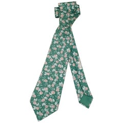 Men's Vintage Hermes Necktie As Pretty as a Picture Water Lillies
