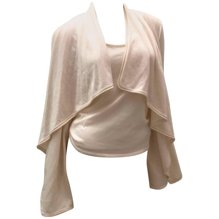 Ralph Lauren Cashmere/Silk new sweater set Ladies Black Label Ensemble