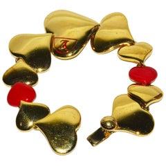 """LOVE"" Vuitton Heart Bracelet"