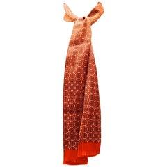 Rare Hermes Scarf / Tie / Belt - 100% Silk - New