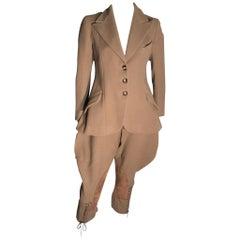Werff Bros 1930s Wool Ladies Riding Suit 8