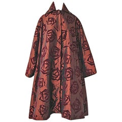 Romeo Gigli Kimono Inspired Architectural Asian Inspired Coat - Runway!