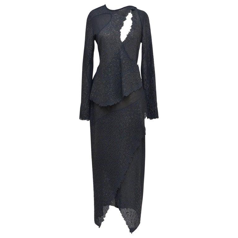 Proenza Schouler Lace Embroidered Dress Seen At Manus X Machina Exhibit