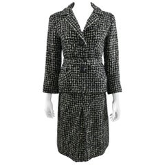 Christian Dior Marc Bohan 1962 Documented Numbered Tweed Wool Skirt Suit