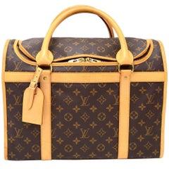 Louis Vuitton Sac Chaussures 40 Monogram Canvas Pet Carry Bag