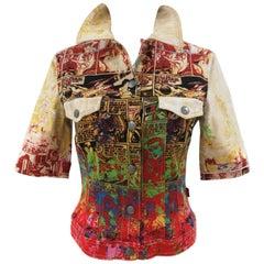 Jean Paul Gaultier multicoloured jacket