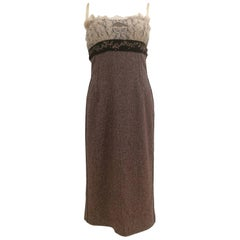 Dolce & Gabbana light purple wool Dress NWOT
