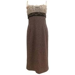Dolce & Gabbana light purple wool Dress NWOT