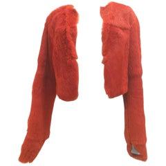 Roberto Cavalli Vintage Orange Fur