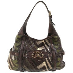 Gucci 85th Anniversary multicolour python shoulder bag
