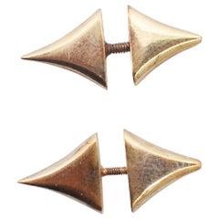 Shaun Leane for Alexander McQueen Gold Thorn Earrings (Pair) 96/97