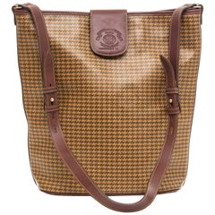 Ghurka Marley Hodgson Houndstooth Check Shoulder Bag Adjustable Shoulder Strap